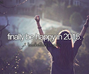happy, finally, and 2015 image