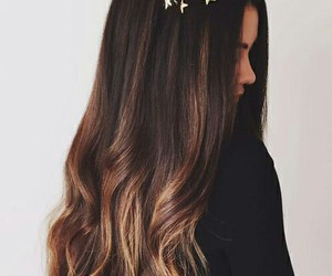 girl, hair, and hairstyle image