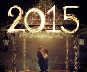 bella and edward, eternal, and happy new year image