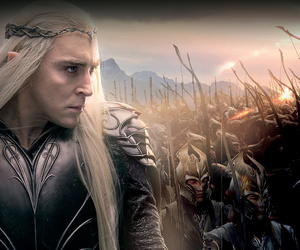 the hobbit, thranduil, and woodland realm image