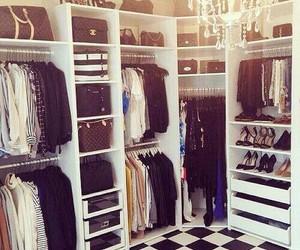 clothes, Dream, and closet image