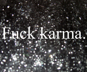 different, karma, and text image