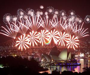 australia, happy new year, and Sydney image