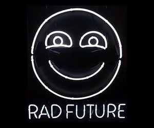 rad, grunge, and future image