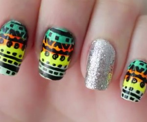 aztec and nails image