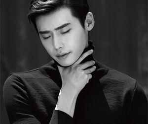 model, lee jong suk, and actor image