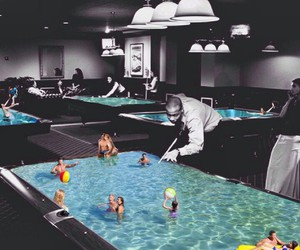 pool and game image