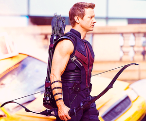 Avengers, hawkeye, and jeremy renner image