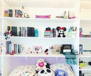amazing, bookshelf, and decoracao image