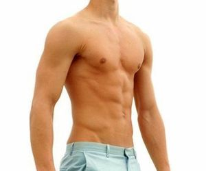 abs, guy, and blond image