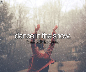 snow and dance image