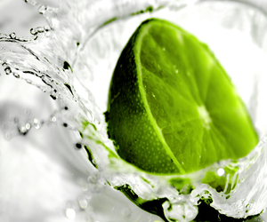 green and lime image