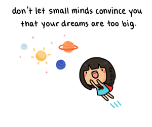 Dream, chibird, and motivation image
