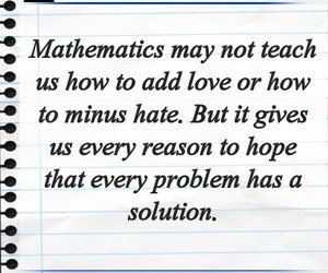 mathematics and love image