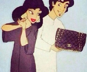chanel, couple, and disney image