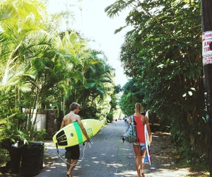 summer, surf, and boy image