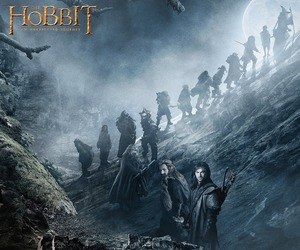 bilbo, dwarf, and gandalf image