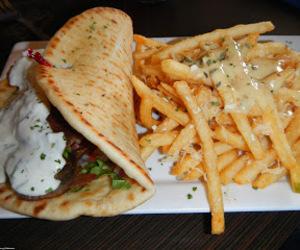 food and gyros image