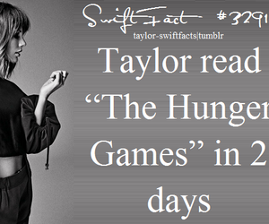 Taylor Swift and the hunger games image