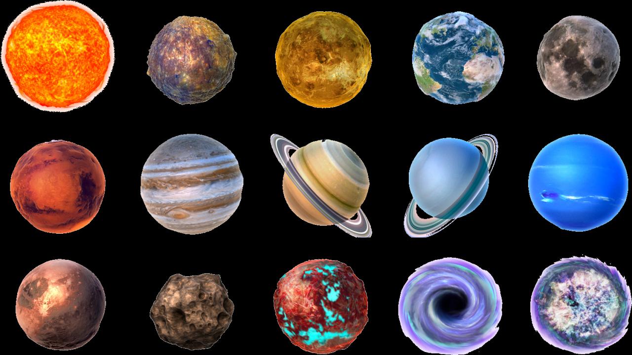 Солнечная система картинка для детей с названиями