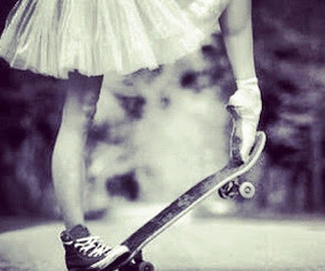 ballet, skate, and dance image