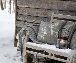 winter, comfy, and lamps image