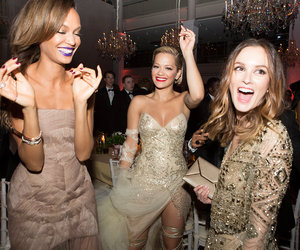 leighton meester, rita ora, and party image