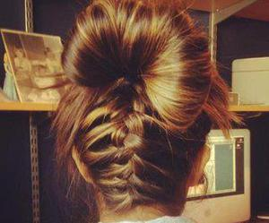 beautiful, braid, and hair image