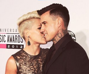 carey hart, love, and P!nk image