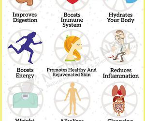lemon, health, and healthy image