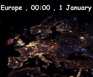 europe, fireworks, and light image