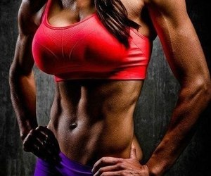 abs, fitness, and inspiration image