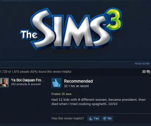 funny, video game, and the sims 3 image