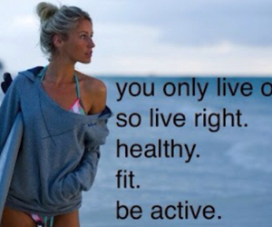 fit, active, and healthy image