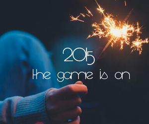 2015, fire work, and game start image