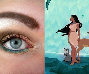 disney, disney princess, and eyelashes image