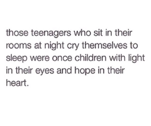 sad, quote, and teenager image