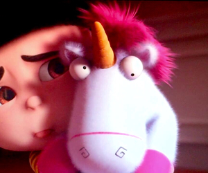 minions, agnes, and pink image
