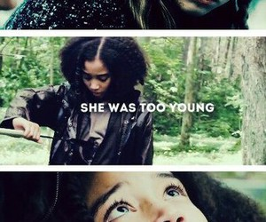 Jennifer Lawrence, rue, and the hunger games image