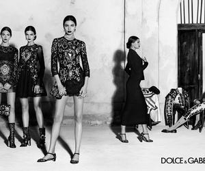 Dolce & Gabbana and models image