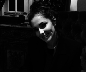 black & white and cheryl cole image