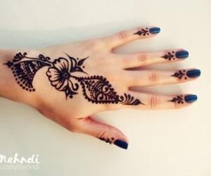 henna, mehendi, and tattoo image