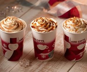 coffee, christmas, and cream image