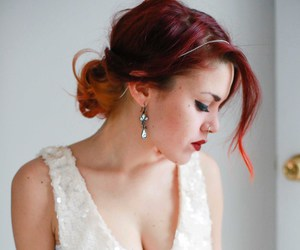 red hair, style, and luanna image
