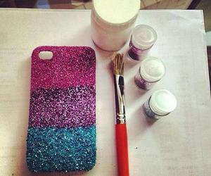 case and glitter image