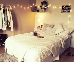 bed, life, and room image