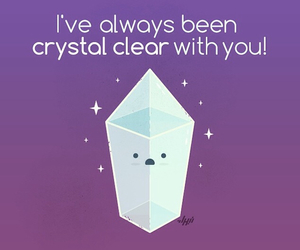 clear, crystal, and diamond image