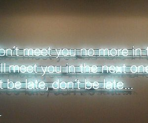 quotes, life, and neon image