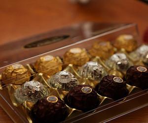 box, yum, and chocolate image