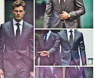 christian, fifty shades of grey, and grey image